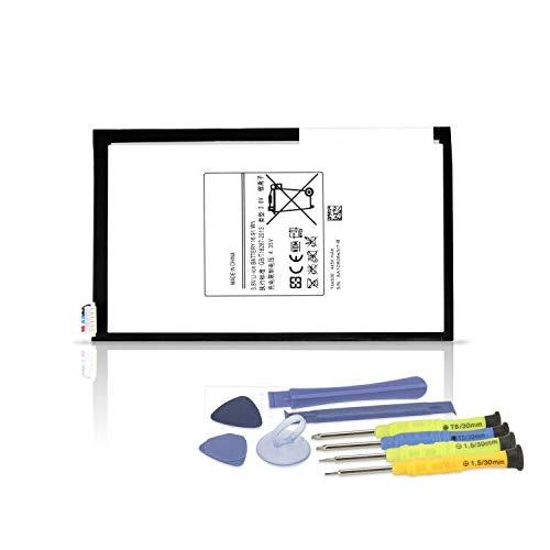 ANTIEE T4450E Tablet Batería para Samsung Galaxy Tab 3 8.0 P8200 P8210 SM-T3100 T3110 SM-T310(Wi-FI) SM-T311(3G & WiFi) SM-T315 T315T(3G, 4G/LTE&Wi-FI) T4450C T4450U 4450mAh with Tools