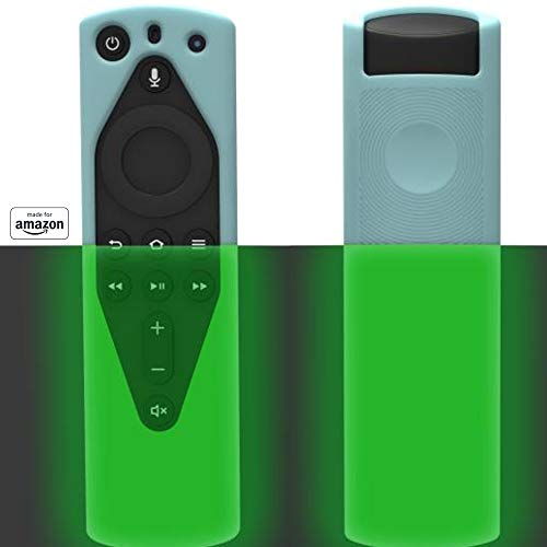 All New, Made for Amazon Remote Cover Case, for Alexa Voice Remote - Glow in The Dark