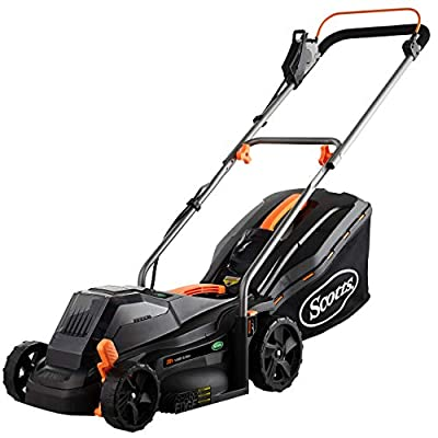 Scotts Outdoor Power Tools 62014S 14-Inch 20-Volt Cordless Lawn Mower, Black