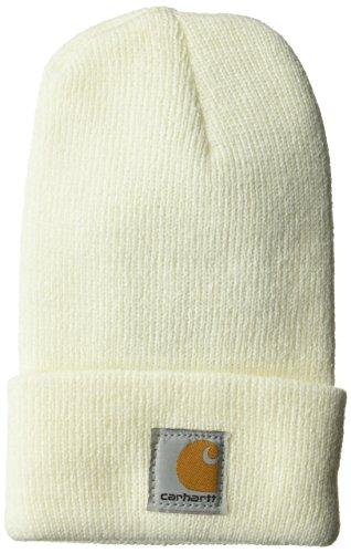 Carhartt Kids' Acrylic Watch Hat, Marshmallow, Toddler