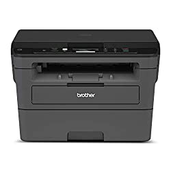 professional Brother HLL2390DW compact monochrome laser printer, practical flatbed for copying and scanning, wireless …