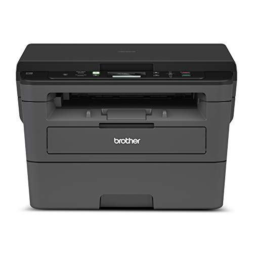 Brother Compact Monochrome Laser Printer, HLL2390DW, Convenient Flatbed Copy &...