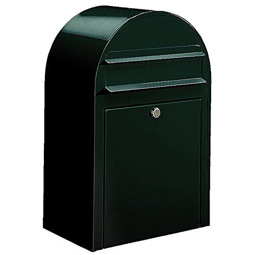 Bobi Classic Briefkasten COL 6064 schwarzgrün Wandbriefkasten