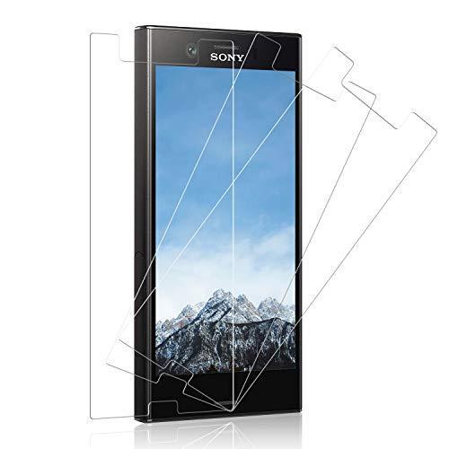 SNUNGPHIR Vetro Temperato per Sony Xperia XZ1 Compact, 3 Pezzi 9H Durezza Sony Xperia XZ1 Compact Pellicola Vetro, Anti Graffio Protezione Schermo HD Trasparenza [Non Coprire l'intero Schermo]