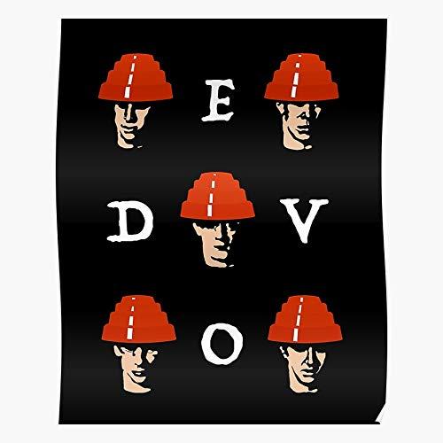 Be Devo Are We They Wave Cure Depeche Mode Not Might Giants Rock Punk New The Music Men Regalo para la decoración del hogar Wall Art Print Poster 11.7 x 16.5 inch