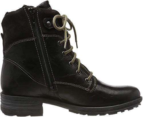Josef Seibel Damen Sandra 83 Combat Boots, Schwarz (Schwarz Pl88 100), 42 EU