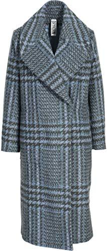 Drykorn Damen Mantel in Blau-Grau Gemustert 2 / S