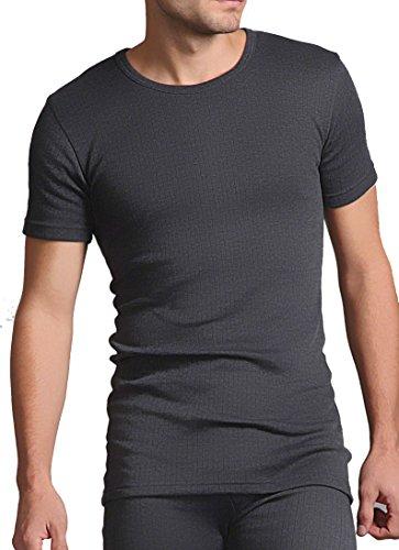 HEAT HOLDERS T-shirt thermique pour homme Gris anthracite Taille XL