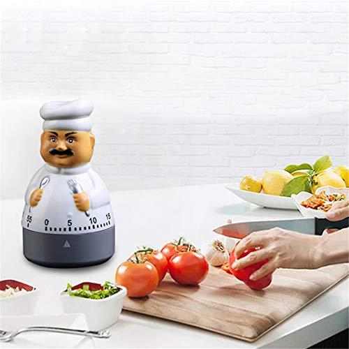 Minuterie de cuisine numérique, chef de cuisine, bouilloire, gestion du temps de cuisine, réveil, compte à rebours de cuisine, pour la cuisine, cuisson,chef