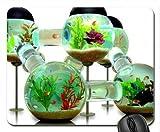 Cojín de ratón del Tanque de Pescados, Mousepad (cojín de ratón de los Pescados)