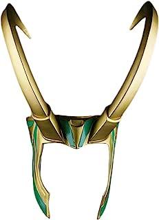 Emeili Loki Helm Halloween Kostuum Masker Accessoire Film Kostuum Fancy Helm Hoofddeksels Cosplay Props voor Mannen Vrouwe...