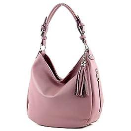 modamoda de – T200 – ital épaule/sac à bandoulière en cuir