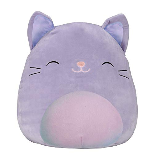 8' Cat Plush Pillow - 3D Cat Pillow Soft Waist Cushion Plush Stuffed Toy Kawaii Plush Toy Pillow Super Soft Plush Pillow Room Decor Children's Birthday Gift Valentine's Day Gift (20 cm)