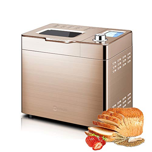 ZTCWS Automático de la máquina de Pan - Máquina de Hacer Pan 2.2LB 30-en-1 programable sin Gluten, Pan 3 Tamaños 3 Corteza Colores, 13 Horas Tiempo de Retardo, 1 Hora Mantener Caliente portátil
