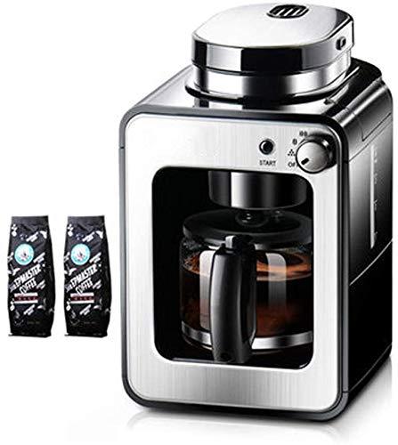 Vers gemalen koffie machine, Home automatische machine, Amerikaanse Koffiezetapparaat, Mini Kleine Elektrische Grinder, koffiemachine met timer, koffiezetapparaat, Black WKY