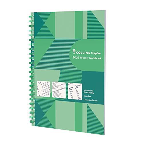 Collins Colplan A5 Weekly Notebook 2022 D