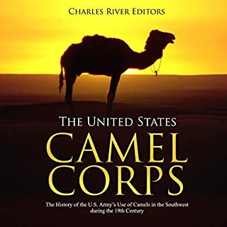 The United States Camel Corps audiobook cover art