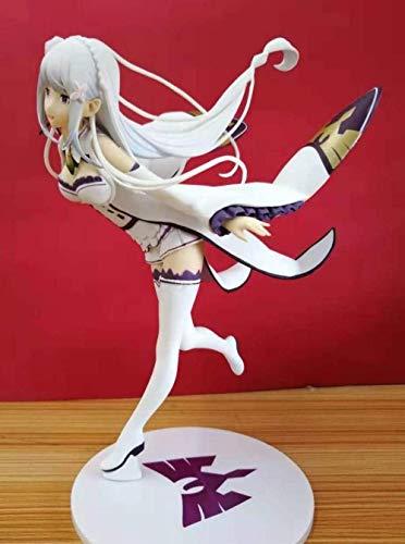 lkw-love Emilia in Anime Re: Das Leben in Einer Anderen Welt von Null Tanzen Version 1/7 Action Figure Toys 22cm Keine Retail-Box
