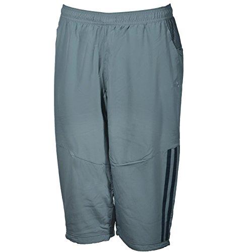 adidas Herren Shorts Clima 3/4 Hose Tech Grey S grau - Tech Grey F12