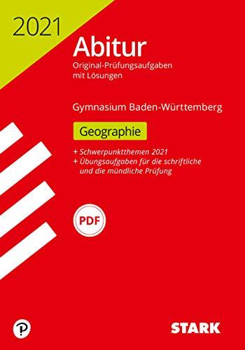 STARK Abiturprüfung BaWü 2021 - Geographie