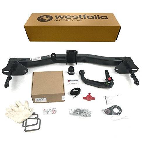 Westfalia Abnehmbare Anhängerkupplung für Fiat Tipo (BJ ab 05/16) im Set mit 13-poligem fahrzeugspezifischen Westfalia Elektrosatz