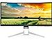 Acer LCD Widescreen Monitor 34in Display, UW-QHD Screen, 3440 x 1440, Black (Renewed)