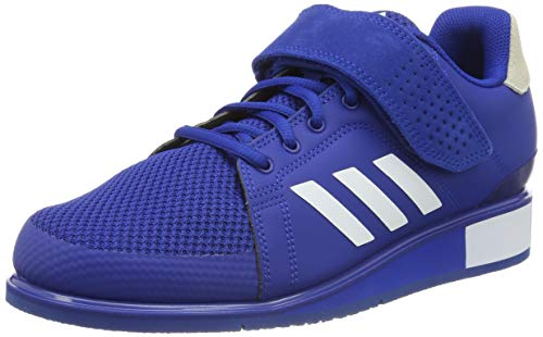 adidas Herren Power Perfect 3 Fitnessschuhe, Blau (Collegiate Royal/Footwear White/Collegiate Royal 0), 46 EU