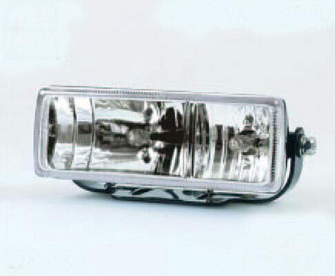 Rechteck Doppelscheinwerfer Klarglas