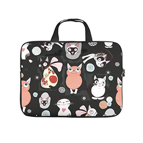 Funda para portátil con diseño de gato japonés, antiestática, para el ordenador portátil, para el trabajo o el negocio
