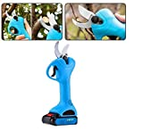 Pruning Shears,Electric Cordless Pruning Shears with 2Pcs Backup Rechargeable Battery Powered Tree Branch