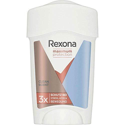 Rexona Déodorant Femme, Stick Antibactérien, Anti-Transpirant Protection Maximum, Formule Cliniquement prouvée, 45ml