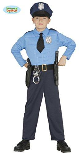Guirca Polizei Kinderkostüm Polizisten Kostüm für Kinder Gr. 98 -146, Größe:122/128