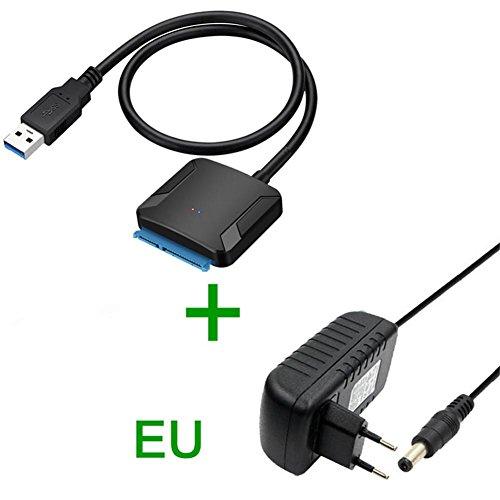 USB 3.0 auf SATA Adapter UASP USB SATA Konverter USB 3.0 SATA Kabel Festplatten Dockingstation für 2,5
