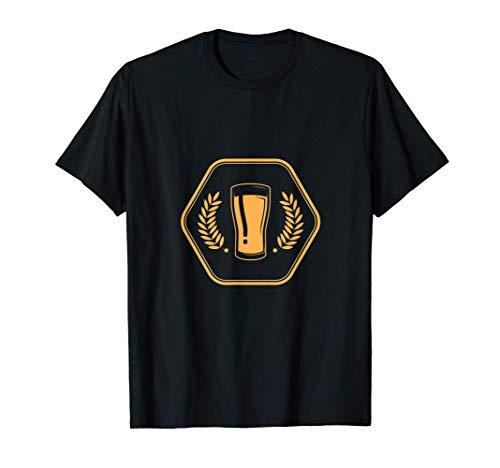 Uomo Caraffa Bevitore Bere Birra Bere Alcool Pub Vacanze Regalo Maglietta