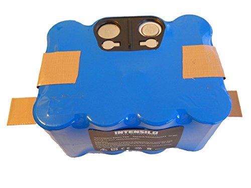 INTENSILO Batería NiMH 4500mAh (14.4V) para robot aspirador Home...
