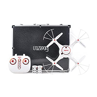 Crazepony Blade Inductrix Case Quad Box with Foam Liner Twin Zips for Inductrix FPV Micro Quadcopter