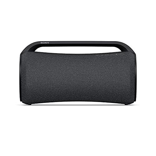 Sony SRS-XG500 - Speaker Bluetooth portatile e resistente ideale per feste con suono potente, effetti luminosi ed autonomia fino a 30 ore (Nero)