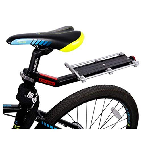 Great Features Of GBZZ Mountain Bike Rack Bicycle Luggage Shelf Cycling Rear Seat Quick Installation...