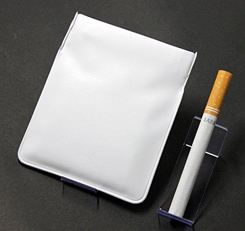 ポケット灰皿 ちっポケレギュラーサイズ白無地 (日本製)