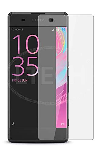 Tuta Tempered Glass with Nano tech Technology 0.26mm Highly Transparency Matte Screen Protector for Sony Xperia XA Dual (Pack of 1)