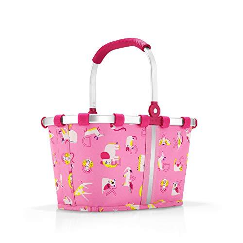 Reisenthel carrybag XS kids abc friends pink Sporttasche, 34 cm, 5 Liter, Abc Friends Pink