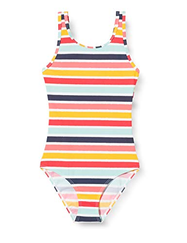 ESPRIT Mädchen Treasure Beach MG Swimsuit Badeanzug, 730, 116/122