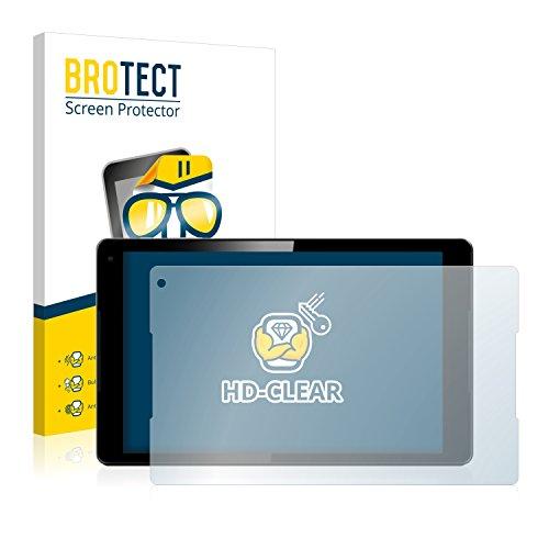 BROTECT Schutzfolie kompatibel mit Vodafone Tab Prime 7 (2 Stück) klare Bildschirmschutz-Folie