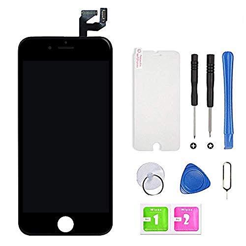 Hoonyer Für iPhone 6S Display, LCD Touchscreen Digitizer Display Rahmen Ersatz Bildschirm, Mit Komplettes Ersatzbildschirm Werkzeug