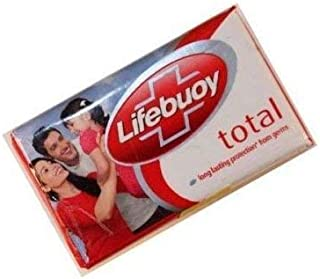Lifebuoy total soap 125gm Total production against 10 infection causing germs