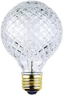 Westinghouse 05017 40 Watt Eco-Halogen G25 Cut Glass Light Bulb (6 Pack)