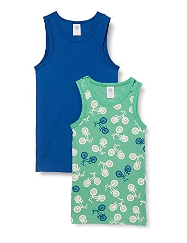 Sanetta Jungen Shirt grün 335268 Unterwäsche, Spearmint, 128
