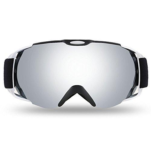 Lixada Adult Skibrille Winter Snow Sports Snowboard Brille belüftet Anti-Fog Sphärische Dual-Objektiv für Snowmobile Ski Skating