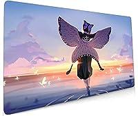 鬼滅の刃:竈門炭アニメマウスパッドPCラージデスクパッドサイズロックノートパソコンキーボードパッド-cartoon_C_27.5x15.75Inch
