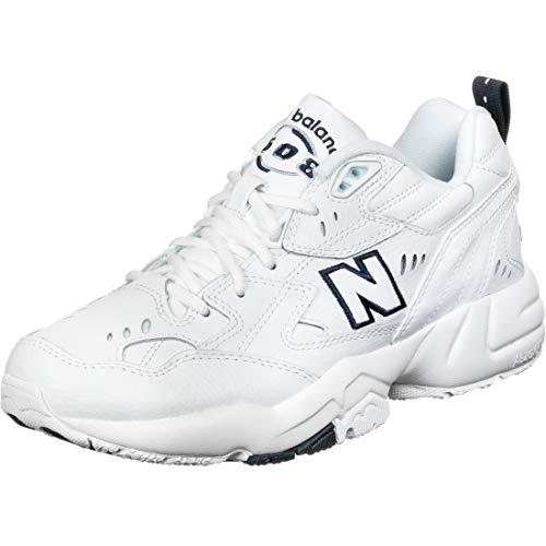 New Balance 608, Zapatillas para Correr de Carretera Hombre, White, 41.5 EU